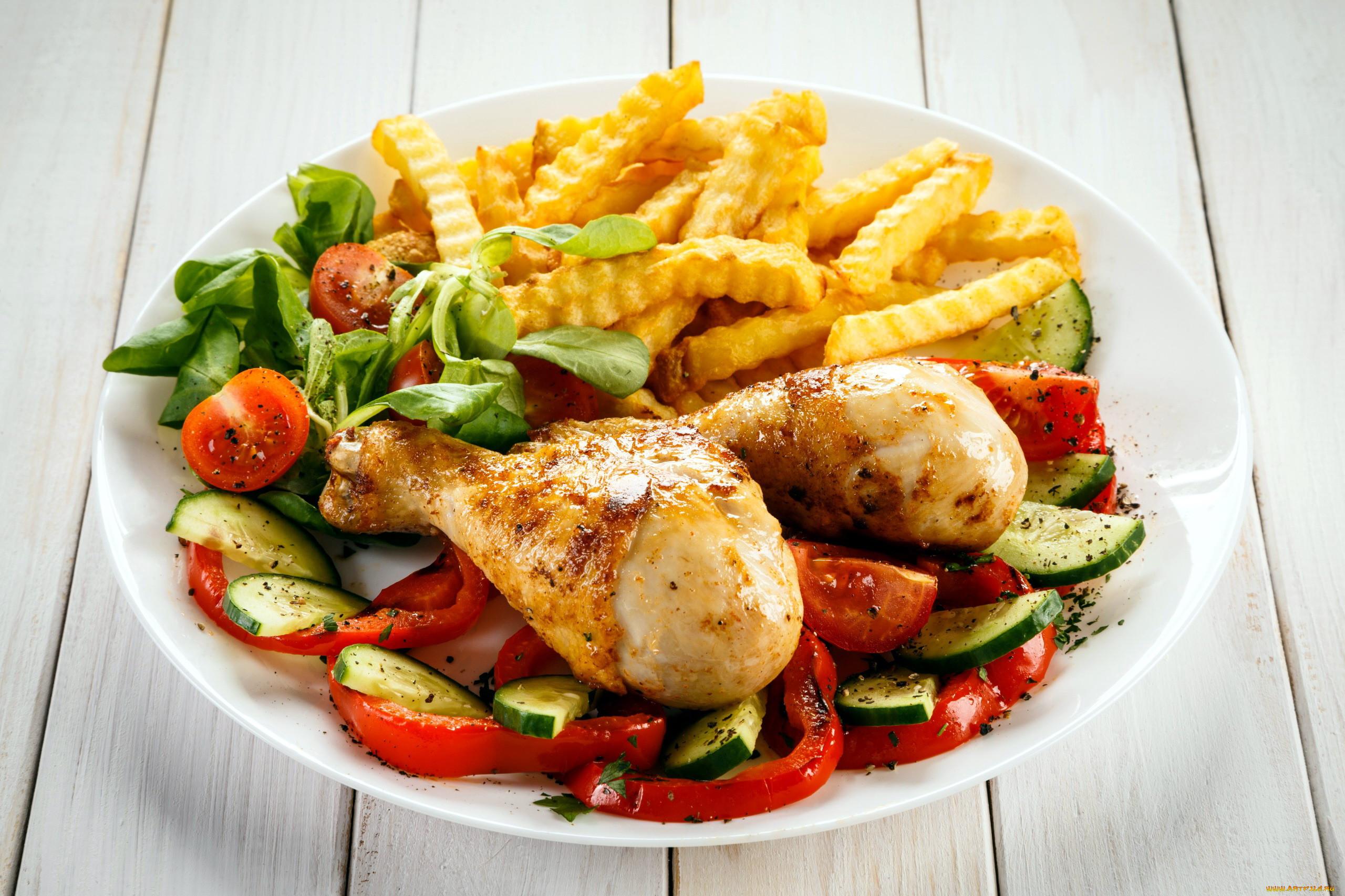 картинки с блюдами из курицы мука или